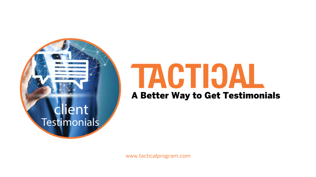 How to Build a Better Testimonial